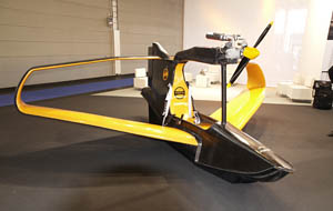 Box wing plane