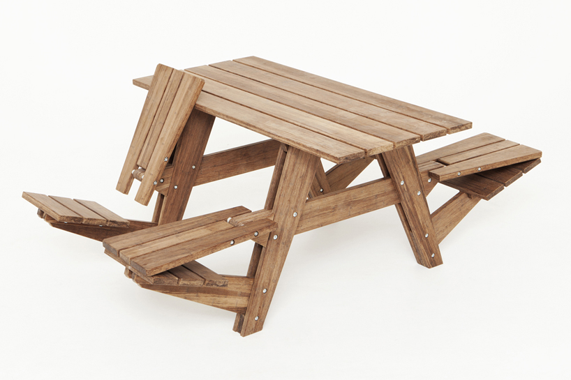 Another Picnic Table's Seats Can Convert Into Recliners