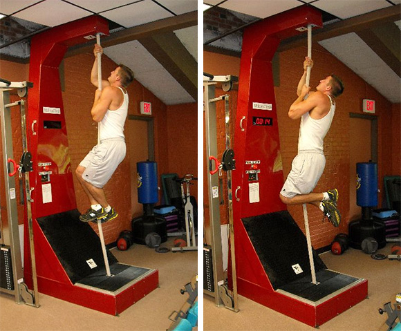 Mteverclimb Is A Continuous Rope Climbing Machine Your Home