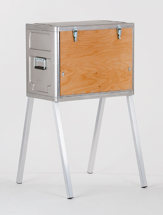 Field Kitchen K120 Hides Your Primary Cooking Equipment Inside A Chest
