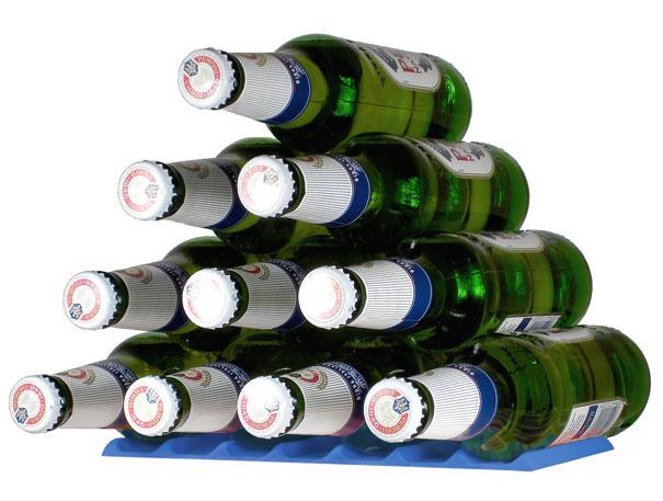 Fridge Monkey Maximizes Shelf Space For Bottles And Cans