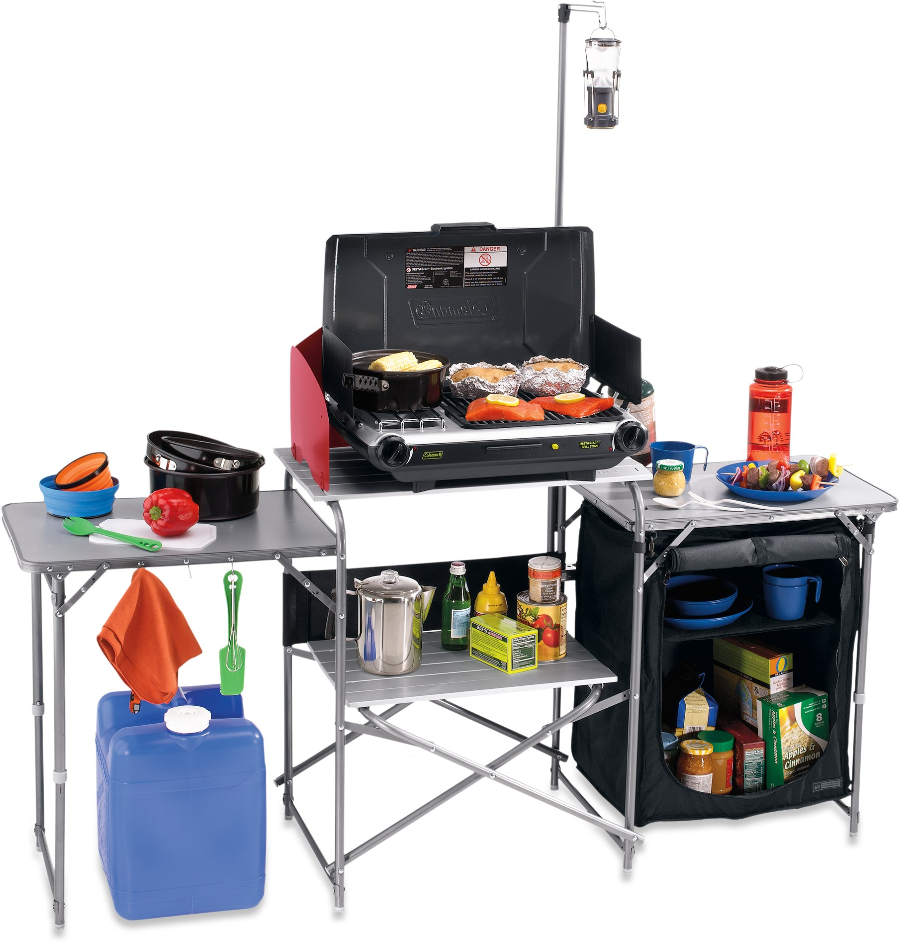 Rei portable camp kitchen for Kitchen set portable