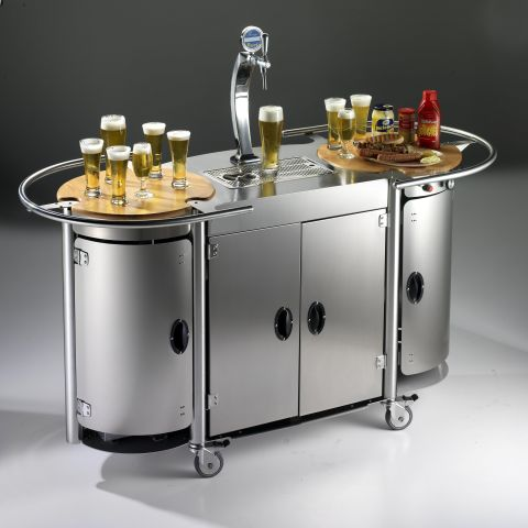 Mobile Bongos Beer Bar Makes For A Swanky Backyard Party
