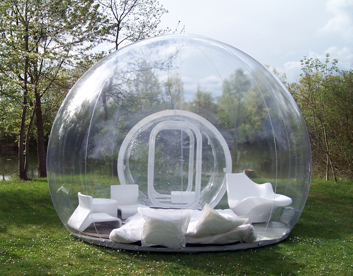 & CristalBubble Is A Giant Inflatable Shelter