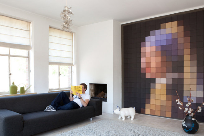 Put some pixels up your wall with ixxi s sheet displays - Things to put on a wall ...