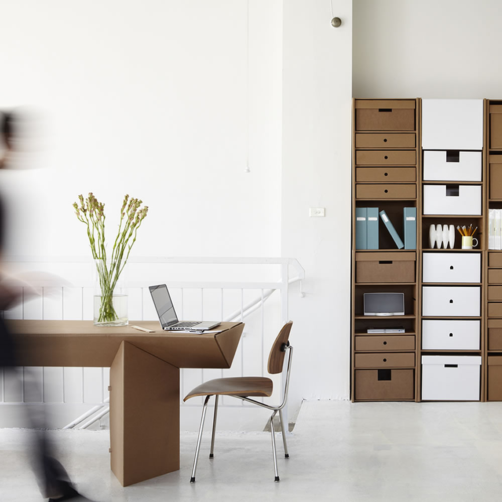 Karton does cardboard furniture right for Muebles cool