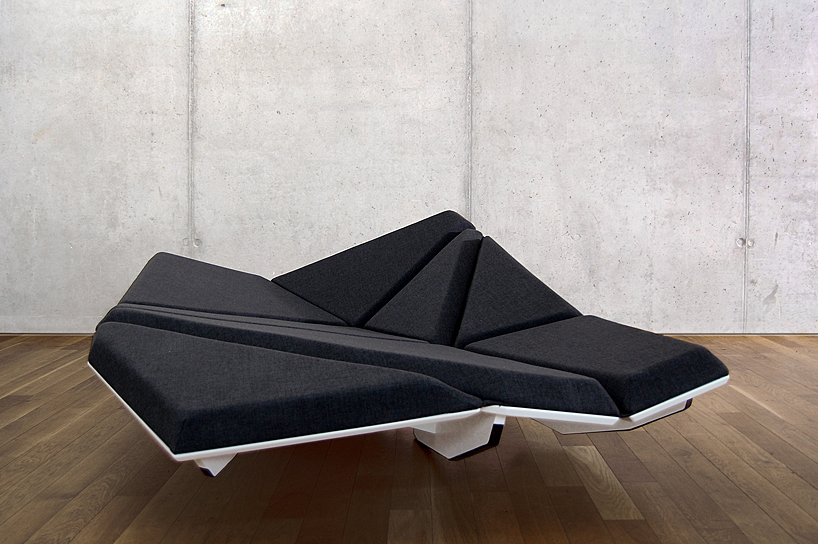 Cay Sofa Shifts Shape To Accommodate Your Position