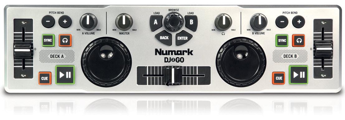 Máy chơi nhạc Numark DJ2Go USB DJ Controller