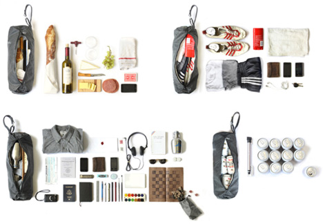 Srs day bag is a stylish sack made from junk car parts - Cool stuff made from junk ...