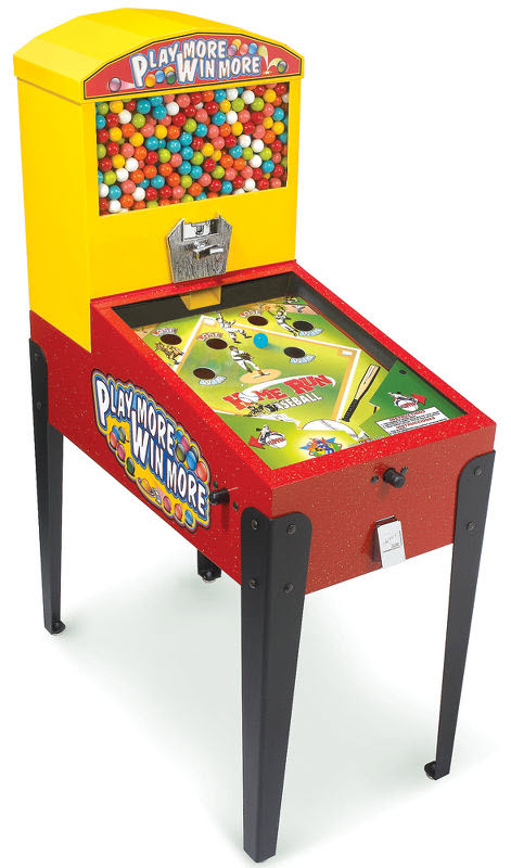 Gumball Pinball Machine Forces You To Play Before