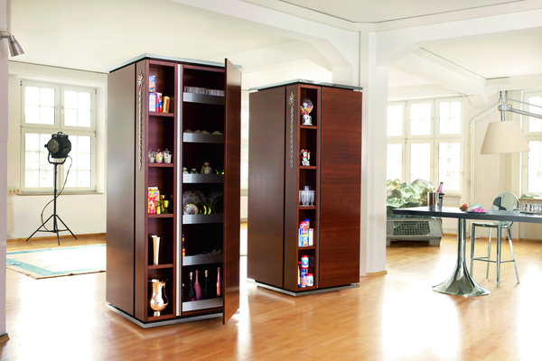 kitchen cabinets ideas kitchen tower cabinet tower kitchen hides a functional kitchen inside two tall