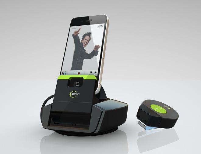 Swivl Camera Stand Follows You Around So You Re Always In