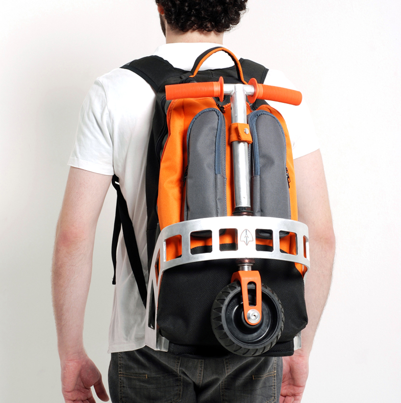 Gig Pack Puts A Backpack On Your Kick Scooter