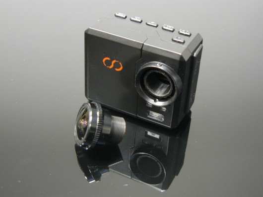 Camone Infinity Action Cam Offers Interchangeable Lenses