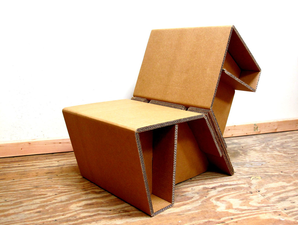 Comfortable cardboard chair designs - Comfortable Cardboard Chair Designs 47