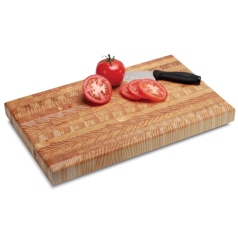 This Cutting Board Auto-Hides Scratches