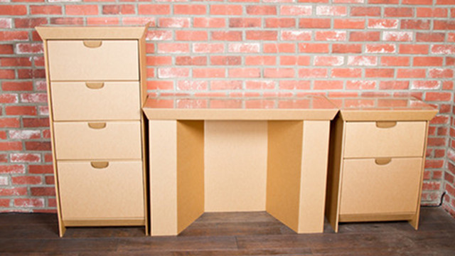 smartdeco makes inexpensive yet functional corrugated furniture cardboard furniture for sale