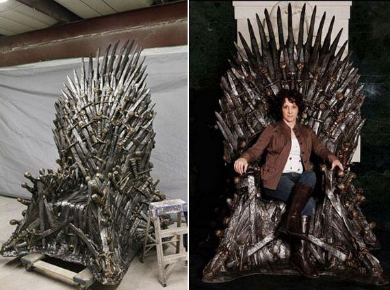 Life Size Game Of Thrones Iron Throne Replica