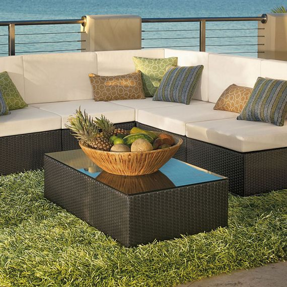 Since the Outdoor Shag Rug is designed to sit exposed to the elements, itu0027s  built to resist fading, mold
