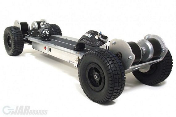 Gnarboards Trail Rider Wheel Drive Electric Skateboard