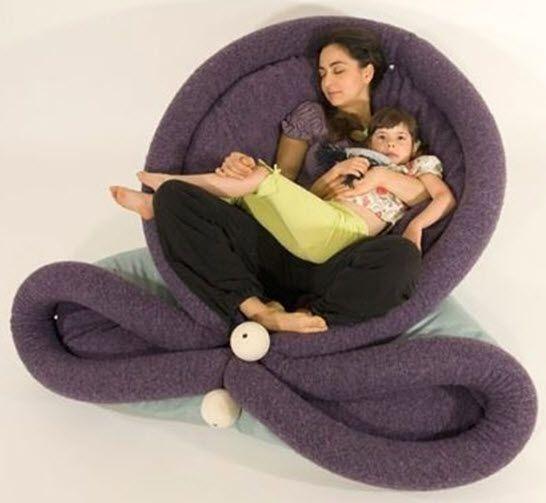 Blandito is a giant pillow mattress burrito - Sofas comodos y modernos ...