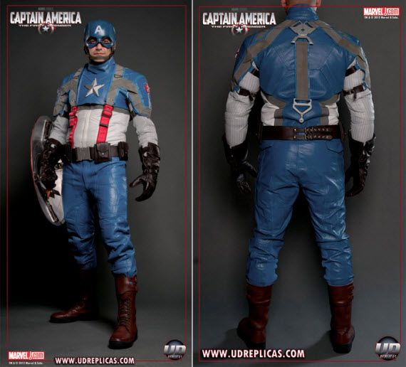 Captain America Motorcycle Suit Lets You Ride Like An Avenger