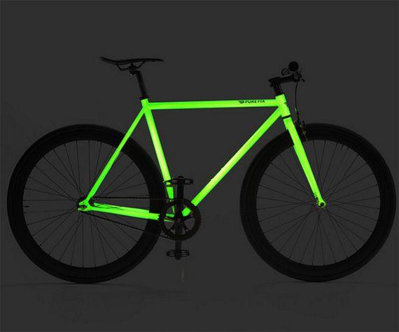 kilo a fixedgear bike that glows in the dark