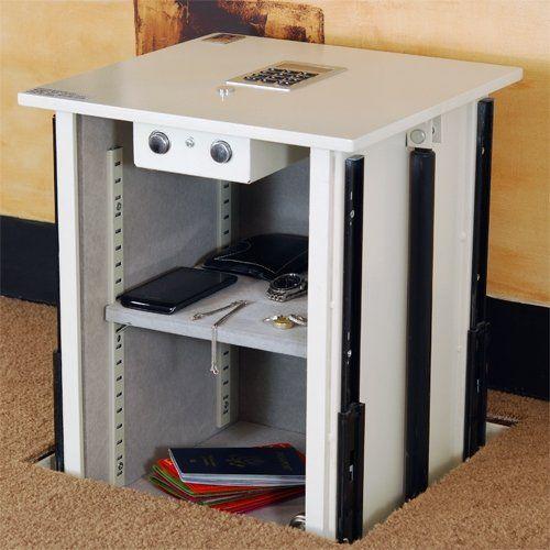 Floor Safes In Concrete : Protex lifto floor safe hides valuables james bond style