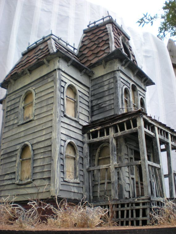 Turn your house into a horror prop perfect for halloween for House models for construction