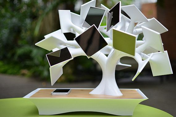 Electree Solar Powered Gadget Charger Is Dressed To Look