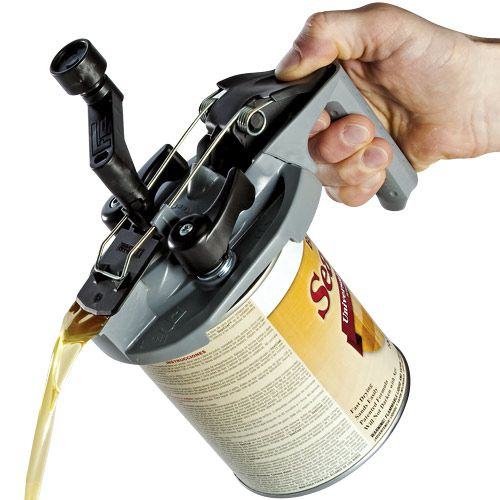 Mixing Mate Combines Paint Can Lid Mixer And Dispenser