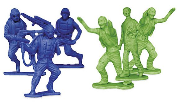 Cool Toy Army Men : Zombies vs zombie hunters army men