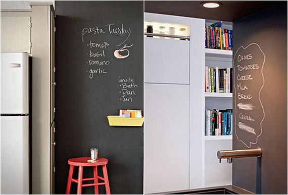 Rust Oleum Paint Turns Your Walls Into A Chalkboard