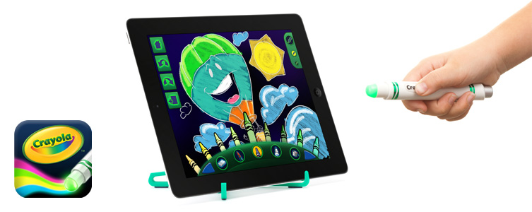 Griffin and crayola introduce light marker electronic for Cool things to draw with markers