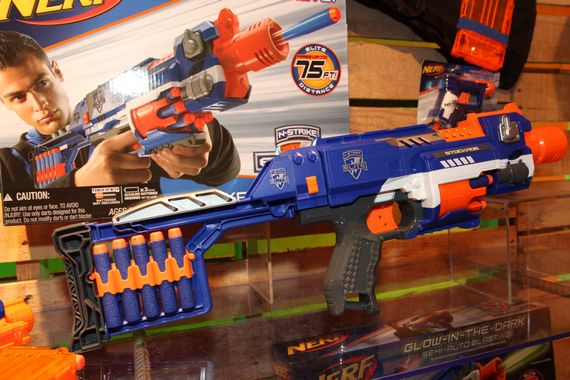 Is This The Best NERF Gun Ever? The NERF Doomlands Judge: