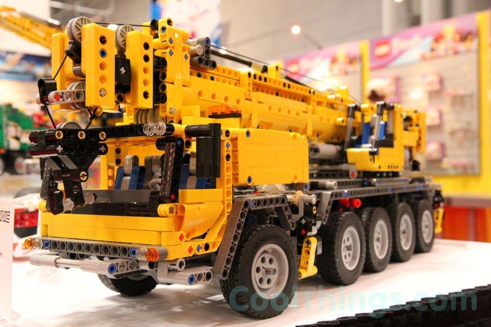 Mobile Crane Explained : Image gallery lego crane mk