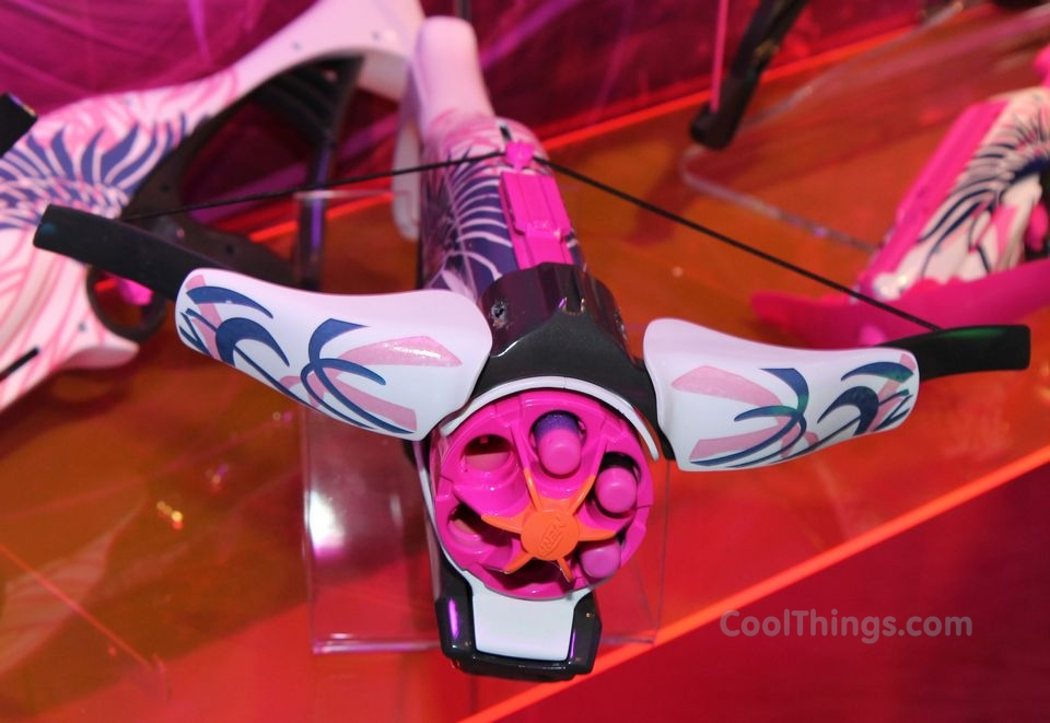 the Nerf Rebelle Crossbow should be your foam-firing weapon of choice