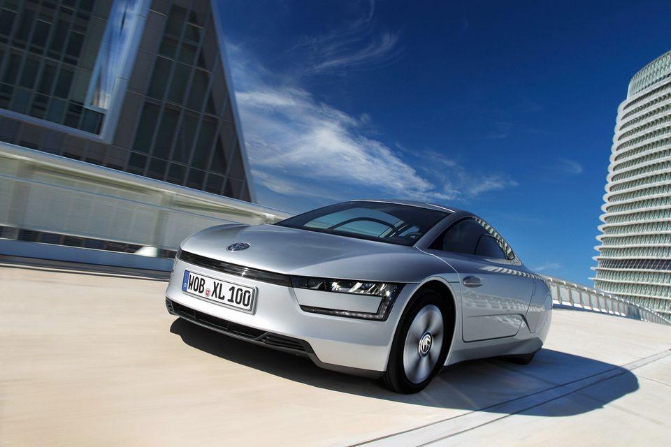 volkswagen xl brings futuristic  top fuel efficiency