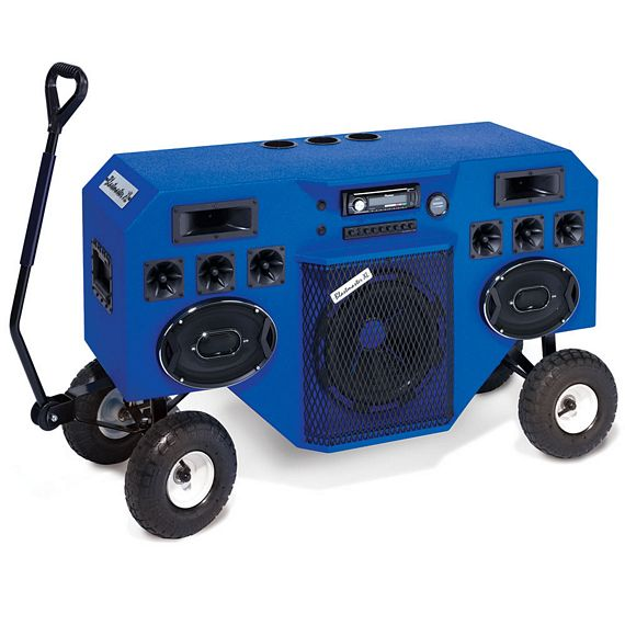 sc 1 st  CoolThings.com & Mobile Blastmaster Is A Towable 2000W Stereo Speaker Aboutintivar.Com