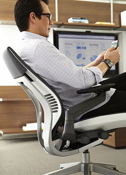 no pricing is listed but the steelcase gesture chair will be available starting this fall - Steelcase Gesture