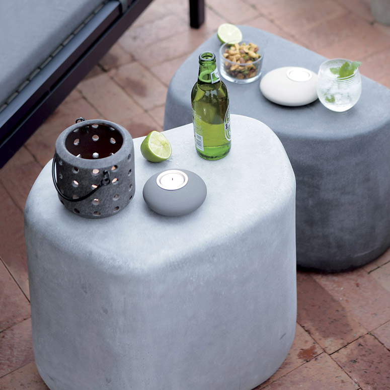 Stone Stools Bring Giant Boulder Furniture Into Your House