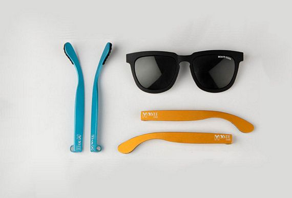 Eyeglass Frames Changeable Arms : Monte Cool Sunglasses Come With Colorful, Interchangeable ...