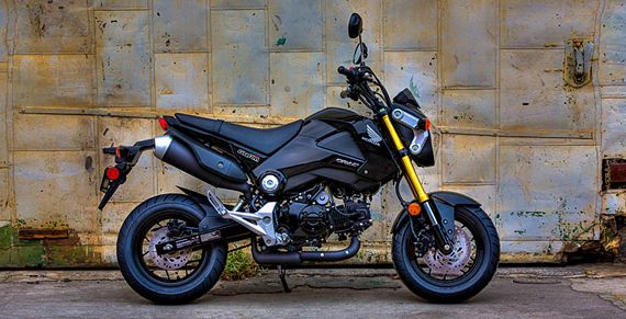 2014 Honda Grom Brings Big Bike Aggression In A Small Motorcycle