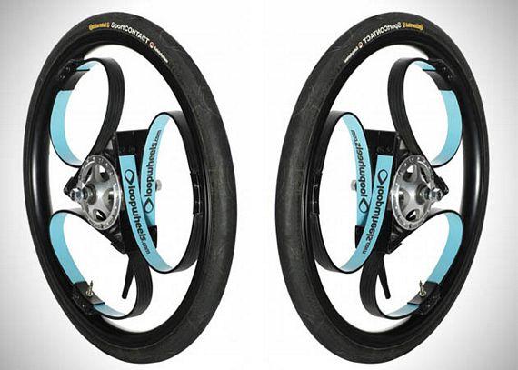 loopwheels are bike wheels with built in suspension