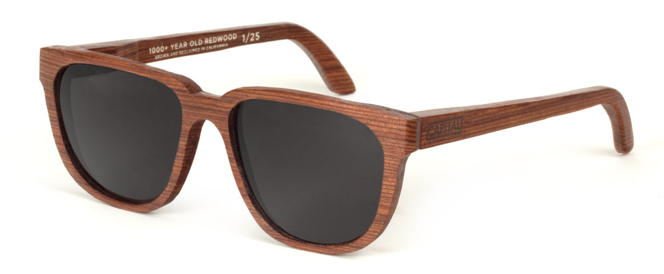 These Redwood Sunglasses Are Made From 1000 Year Old Wood