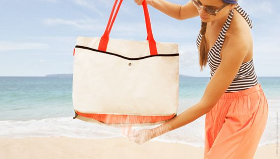 Shake Bag Is Like Having A Sand Proof Beach Tote