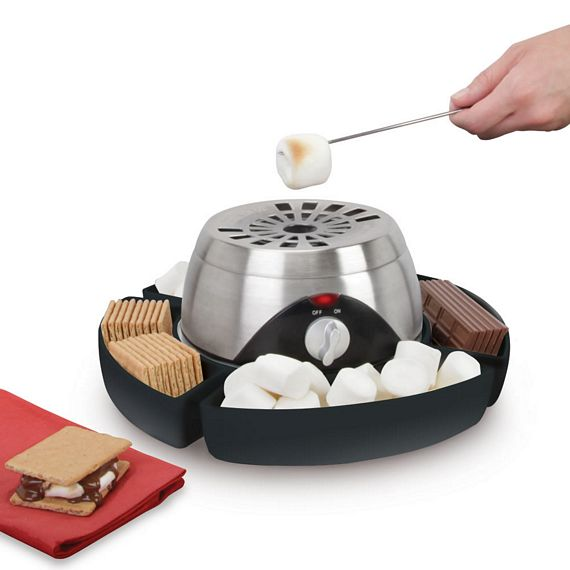 Indoor Flameless Marshmallow Roaster: Campfire Fun At Home