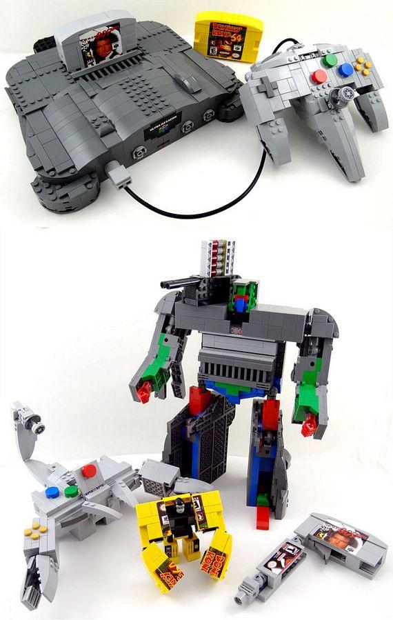 Nintendo 64 Legoformers Lego Transformers