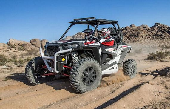 Polaris RZR XP 1000 Rips Through Rugged Outdoor Trails With 107