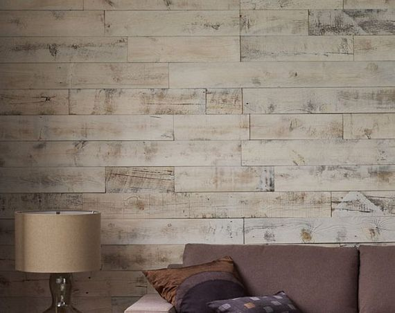 Stikwood turns boring walls into fancy wooden walls for Wood walls in house